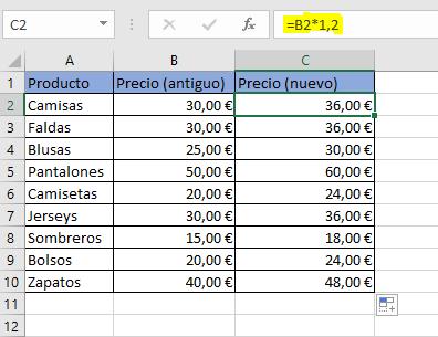 Calcular Porcentajes En Excel Fórmula Para Calcular Porcentajes Ionos