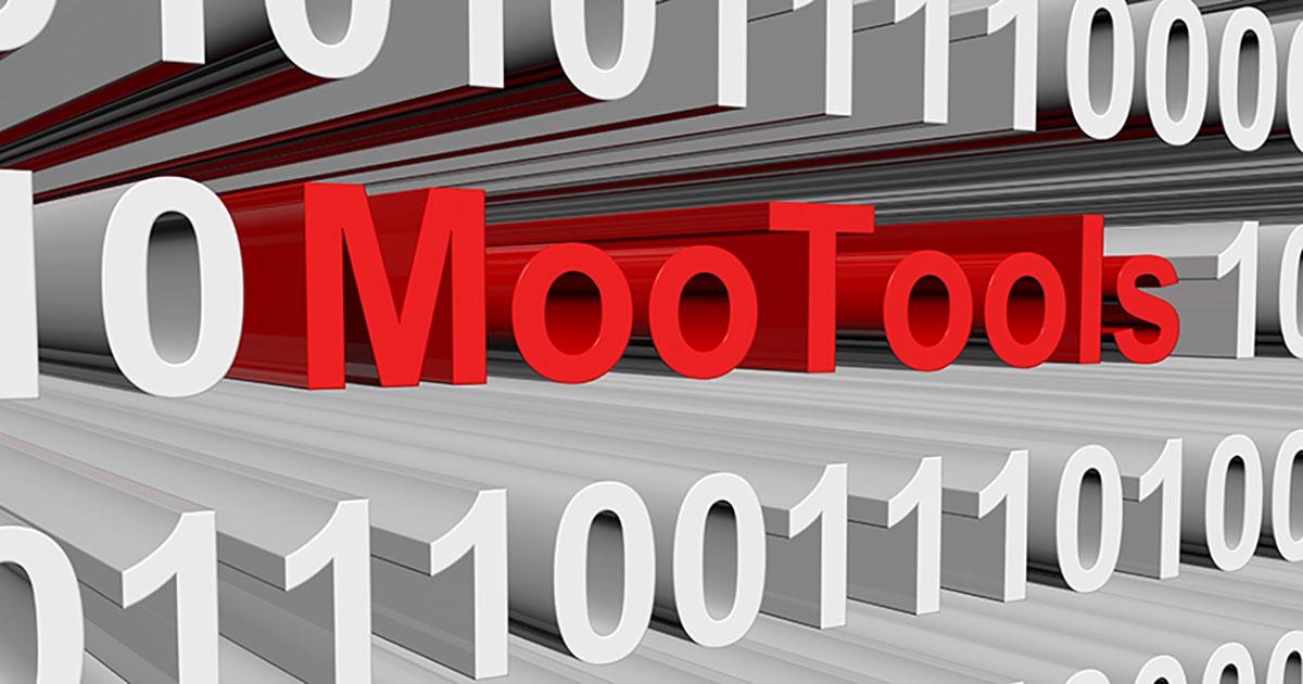 MooTools: colección de herramientas para JavaScript - 1&1