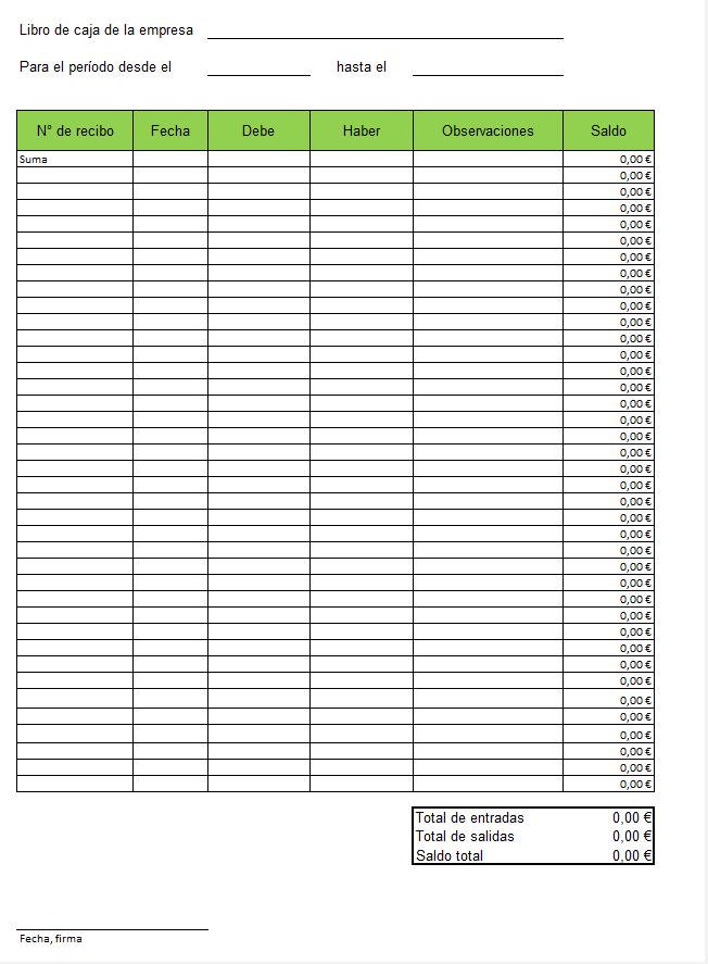 c4f2777f764f Plantillas de libros de caja en Excel gratuitas - 1&1 IONOS